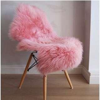 Fluffy Wool Faux Fur Rug Carpet