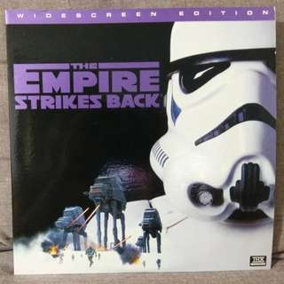 arthld STAR WARS - THE EMPIRE STRIKES BACK Widescreen Edition 2 x LD Laserdisc Laser Disc