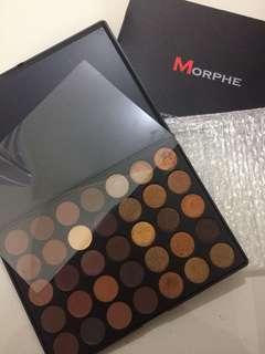 Morphe 35R Ready, Set, Gold Eyeshadow Palette (Old packaging)