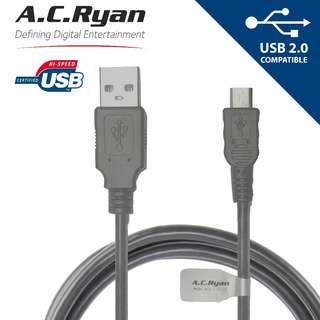 USB A to Micro-B Cable Hi-Speed Charging and Data Sync Cord