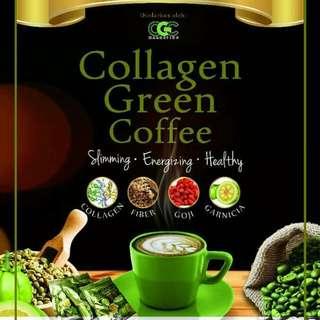 Collagen Green Coffee