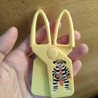 1998年McDonald's 漢堡神偷較剪模型