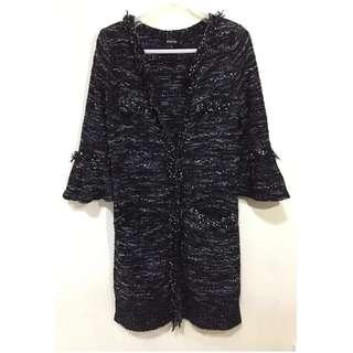 日本製 針織 tweed 外套  FRAGILE
