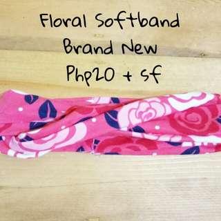 Floral Softband