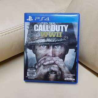 Call of Duty WWII (PS4 Game)