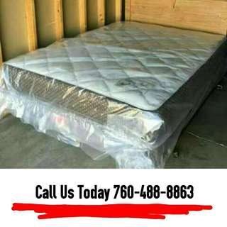 Queen Mattress + Boxspring
