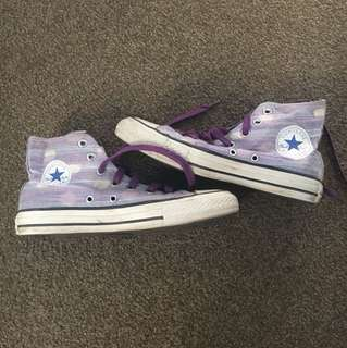 Converse purple High top