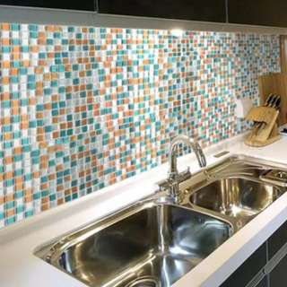 3D Backsplash Wall Decor