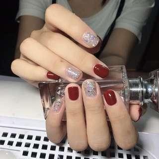 Nail studio manicure gel
