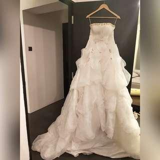 L/XL Wedding gown sale floral