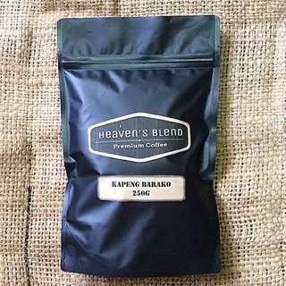Heaven's Blend Coffee Kapeng Barako 250g