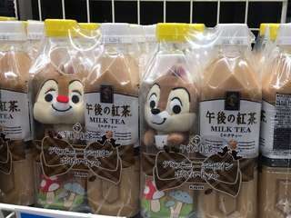 Chip and dale x午後之紅茶