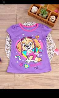Authentic  paw patrol TOP Brand New Size Available For 3-5t