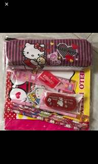 Hello Kitty Goodies Bag Set Brand New Items Include As Shown In The Pic