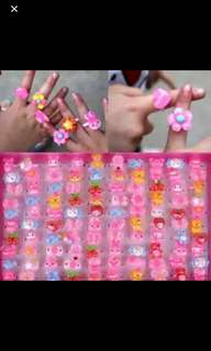 Instock kids rings ideal for party items brand new buy 10get 2 free