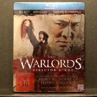 THE WARLORDS [投名狀] Director's Cut Blu-ray IronPack | Germany Import OOP US$24 | S$30