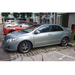 Toyota Corolla Altis 1.6 Standard (A) For Rent