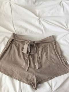 Taupe Forever 21 Dress Shorts