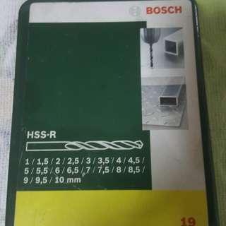 HSS-R drill bits set