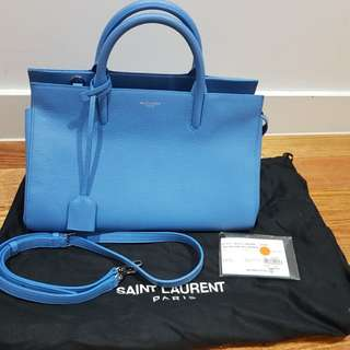 Saint Laurent - Small Cabas Rive Gauche Bag (with receipt)