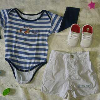 Preloved Set for Baby Boy 0 to 9 Months