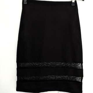 H&M Mesh Skirt Sz XS