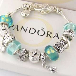 Pandora full charm bracelet