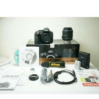 Nikon D5300 (Body +Lens)