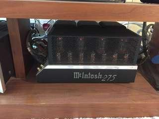 McIntosh MC275 Stereo Power Amplifier: 如相片所示(as shown)