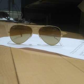 Unsex Rayban sunglasses aviators polarized