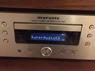 Marantz SACD Player SA-7S1: 如相片所示(as shown)