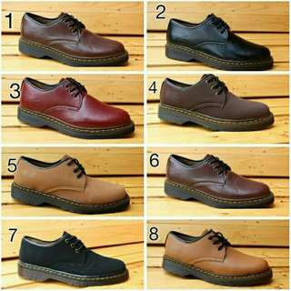 Sepatu Docmart Kulit Unisex