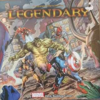 Marvel legendary deck builder