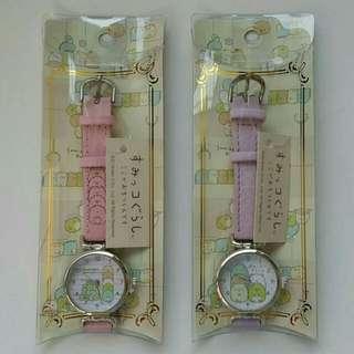 【日本進口】角落生物手錶-88317 $450 粉/紫 錶面直徑3cm