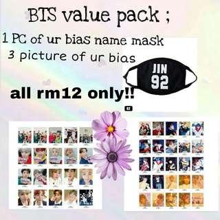 BTS value pack