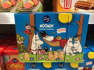 🇫🇮芬蘭 姆明 兒童 幼兒食用牛油餅乾🇫🇮