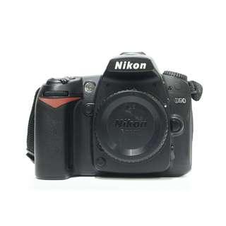 Nikon D90 Body Only (SC:4K+)