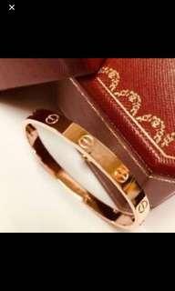 Cartier classic bangle