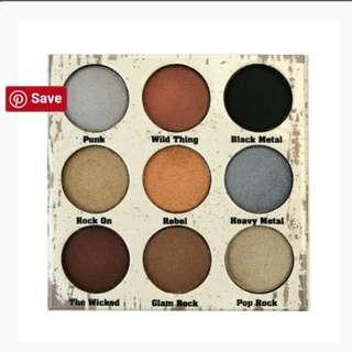GLAM METALS EYESHADOW PALETTE - Crown cosmetics