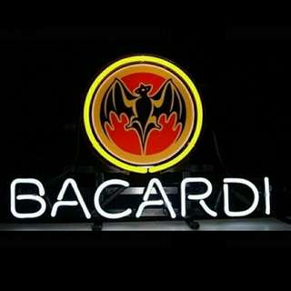 Neon Signs For Bacardi Distillery Artwork