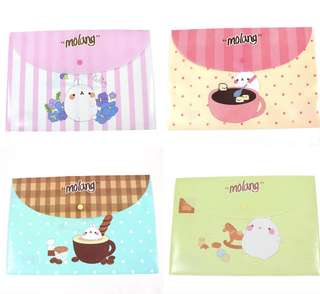 Cute Cartoon PVC Files