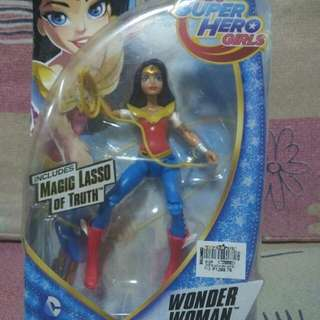 Collectable super girl hero