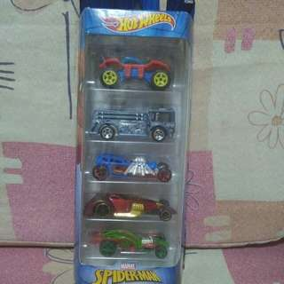 Hot wheels spiderman