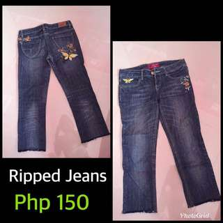Korean Ripped Jeans