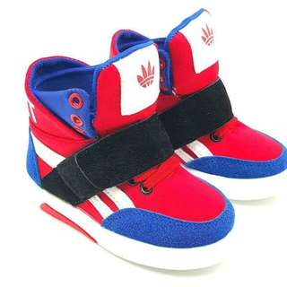 Adidas red blue for kids