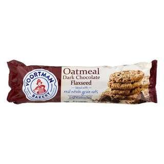 Voortman Oatmeal Dark Chocolate Flaxseed Cookies,350g