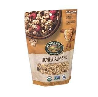 Nature's Path Organic Granola, Gluten Free, Honey Almond with Chia 11 oz