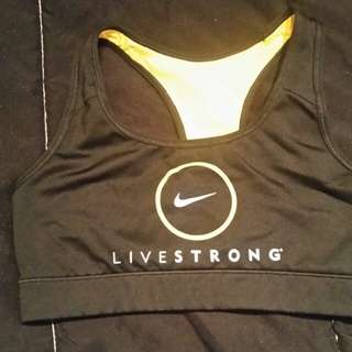 Nike Live Strong Sports Bra