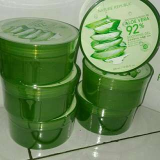 Open Jastip Nature Republic Aloe vera Original