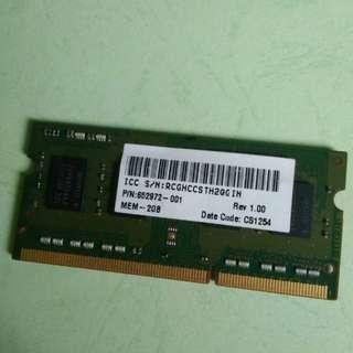 #IPB2018 RAM 2GB DDR3 sodim